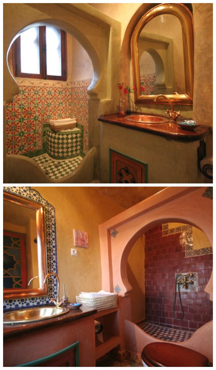 Дизайн ванной в марокканском стиле