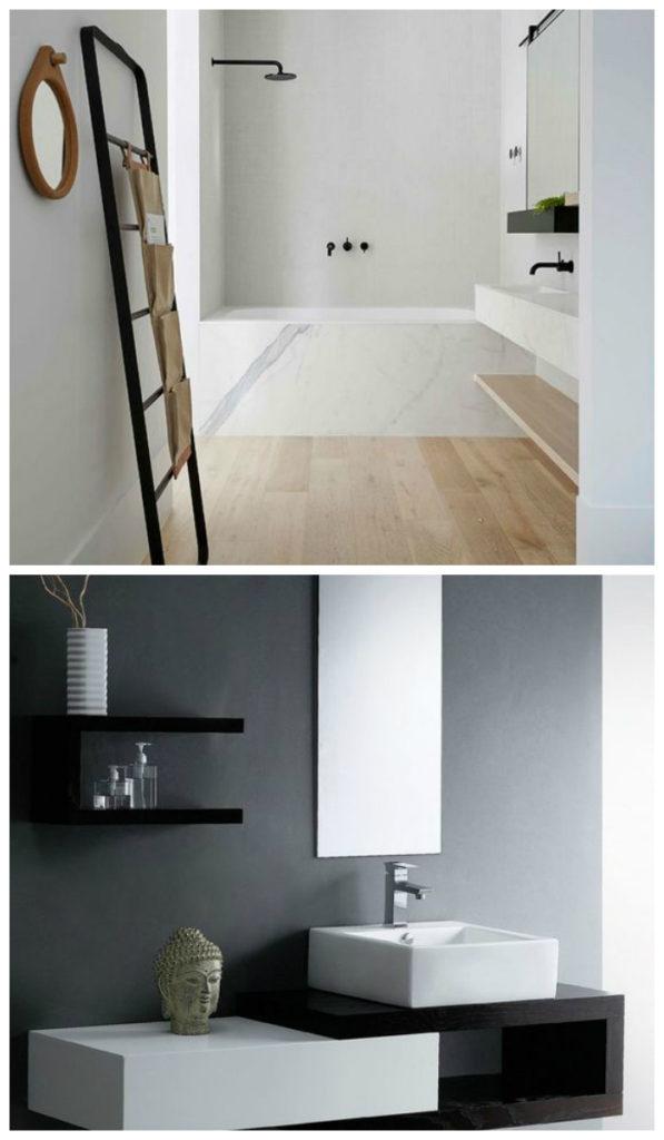 Дизайн ванной 2017: минимализм