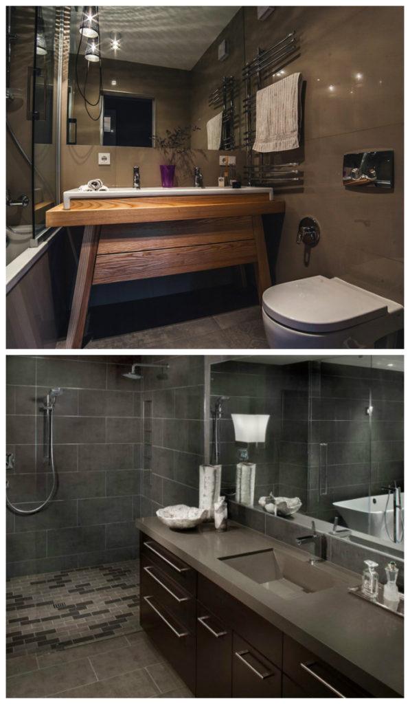 Варианты цветового решения для ванной комнаты