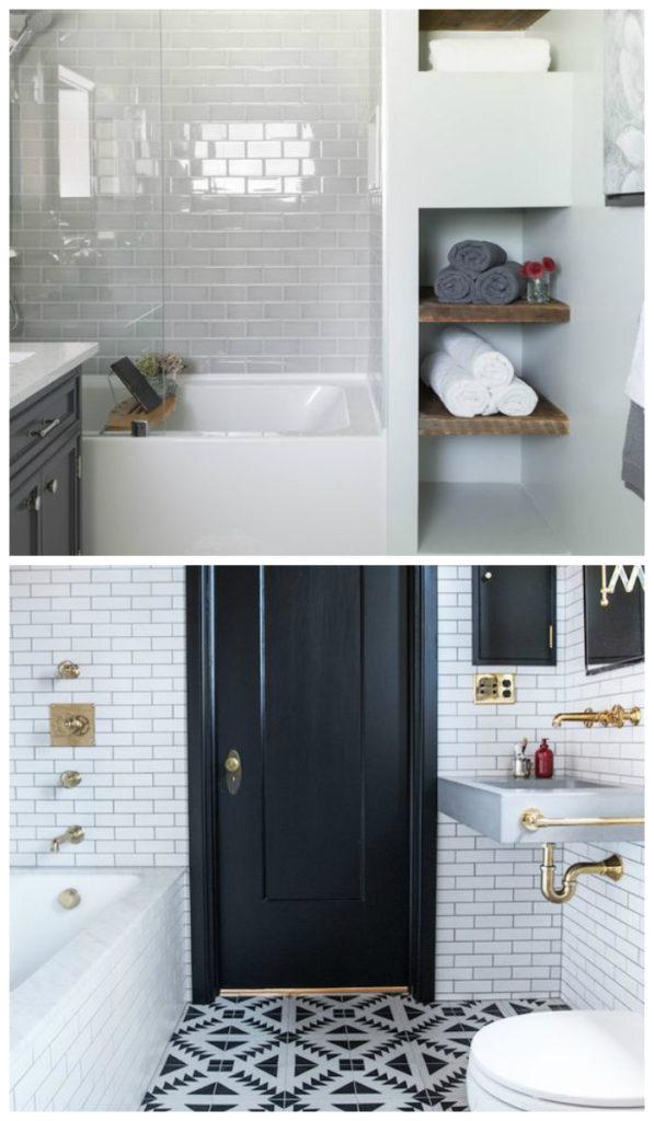 Дизайн ванной маленькой комнаты - 80 фото идей 2018 51