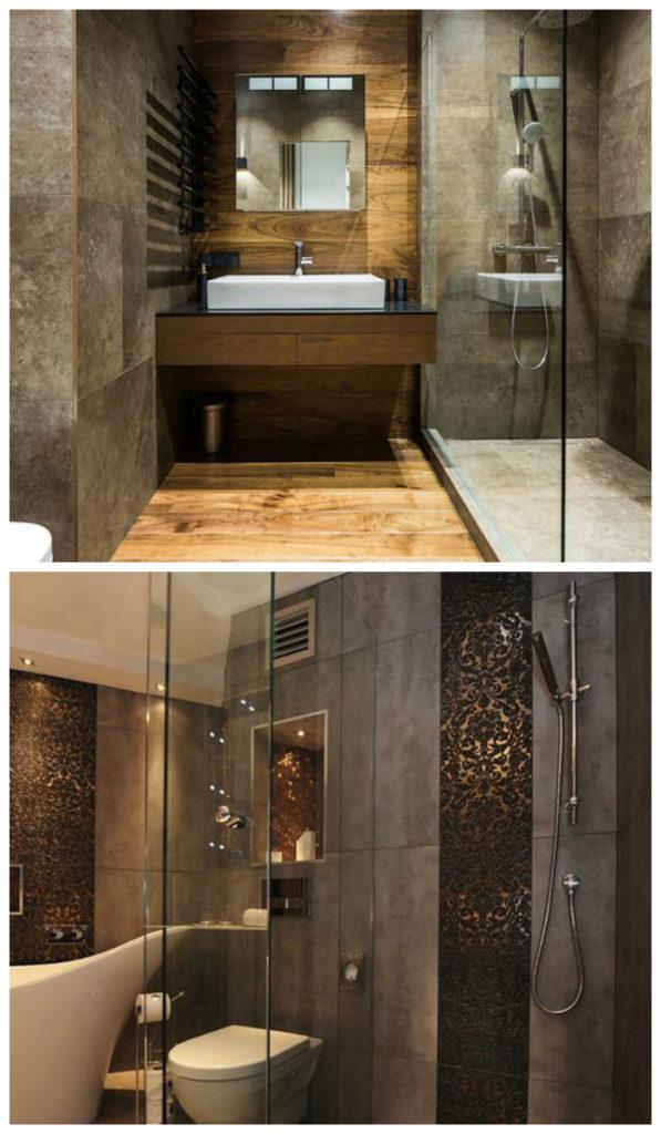 Стильный интерьер ванной 2017