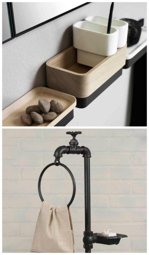 Дизайн ванной 2017: стильные аксессуары