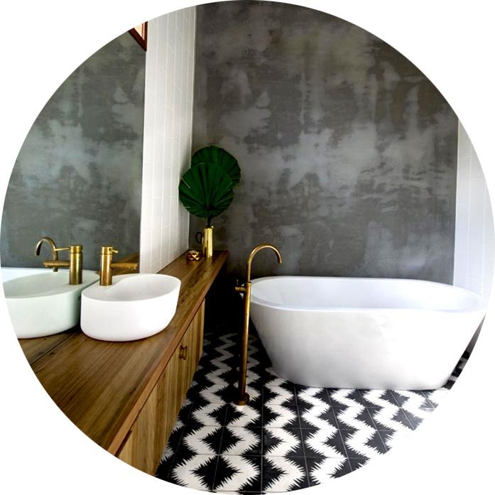 Дизайн ванной комнаты, фото
