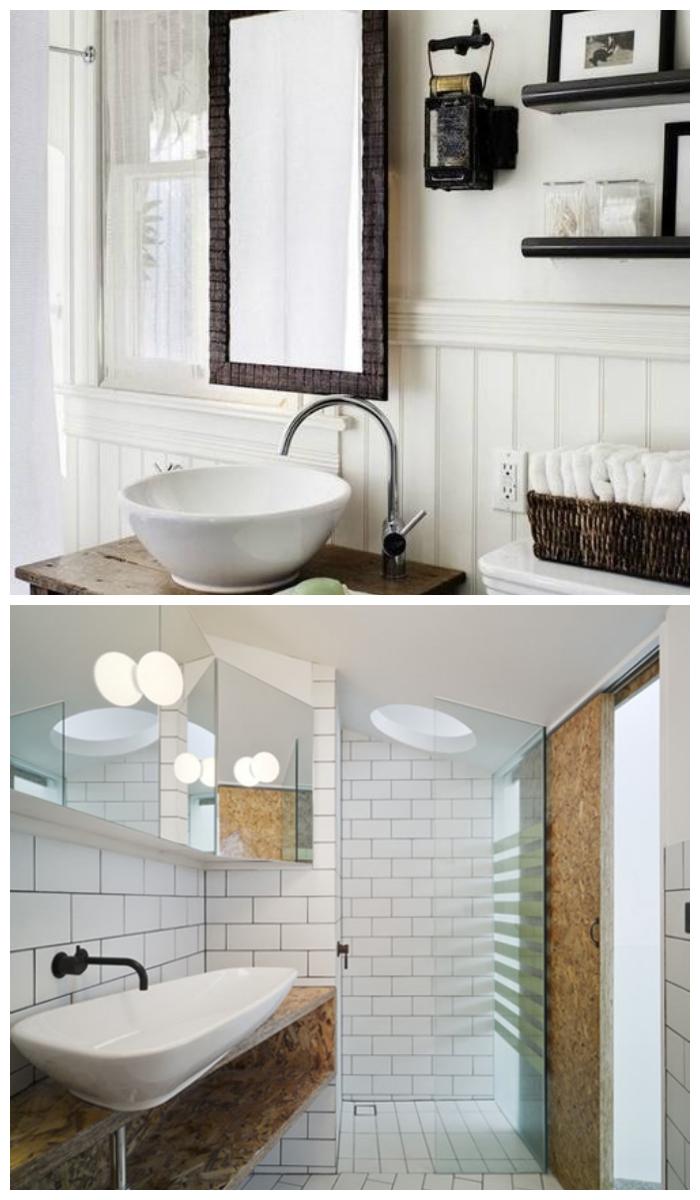 Дизайн ванной комнаты в скандинавском стиле, фото