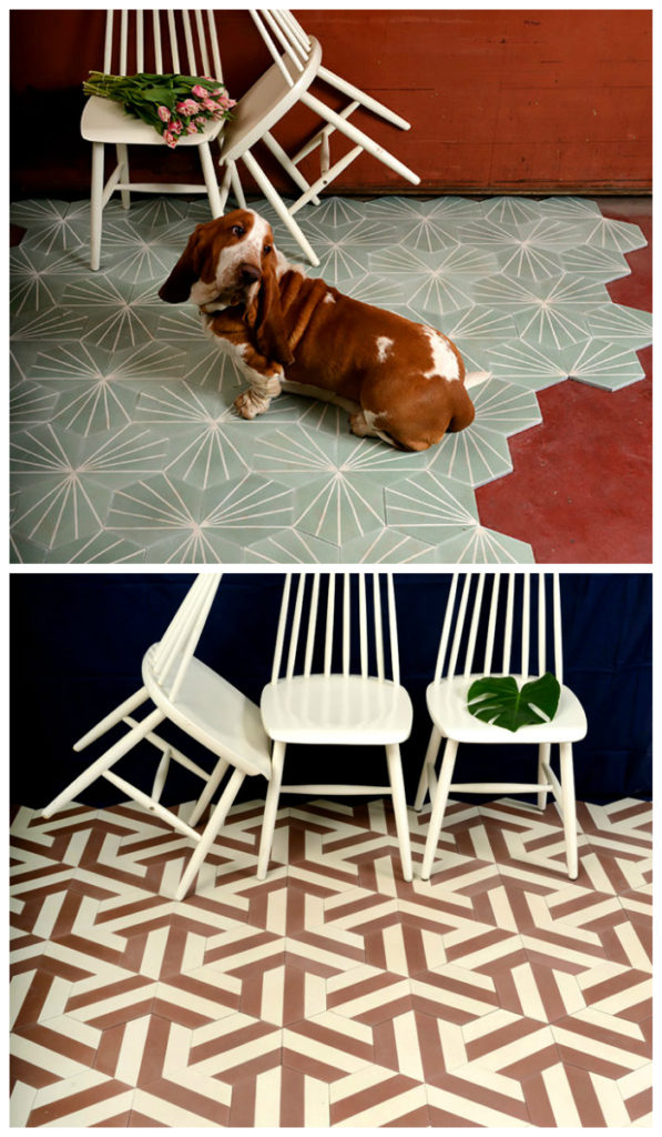 Нестандартные формы керамической плитки