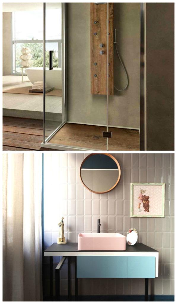 Выбор кафельной плитки для ванной: цветовые решения