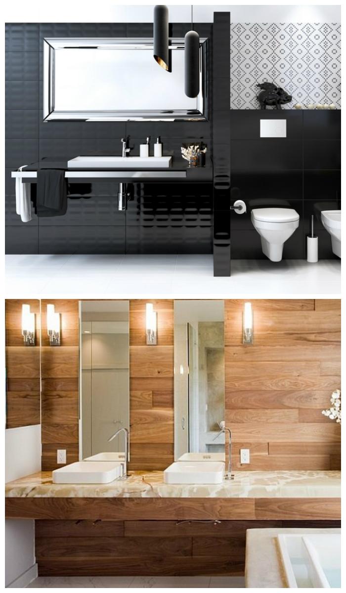 оформление ванной в разных стилях