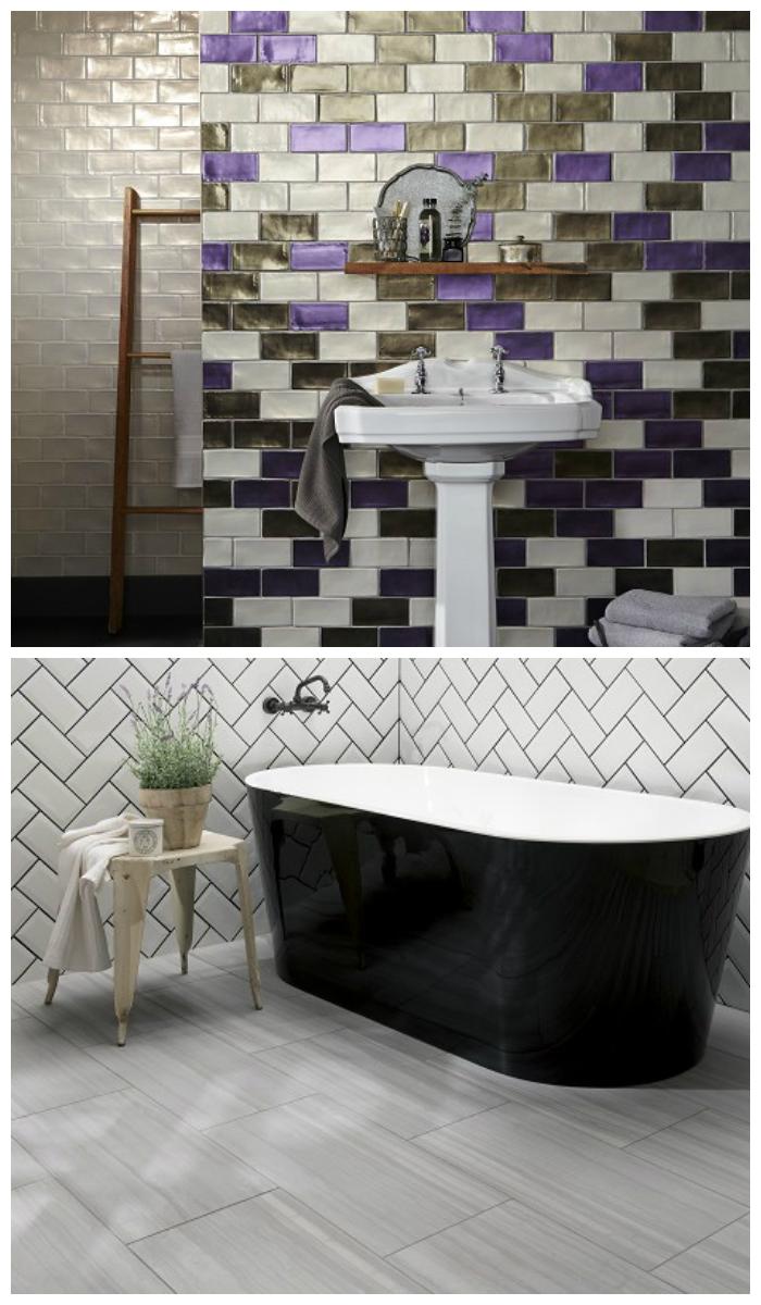 Плитка для ванной комнаты, фото