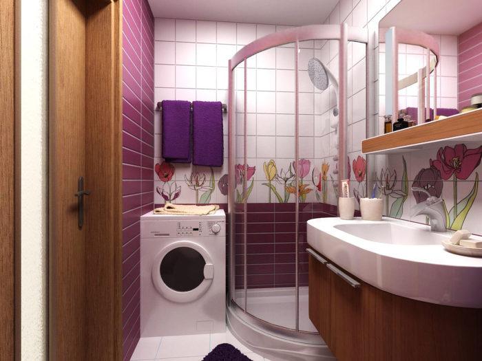 Ванная комната без туалета