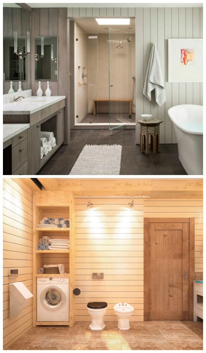 отделка ванной комнаты пластиком фото дизайн