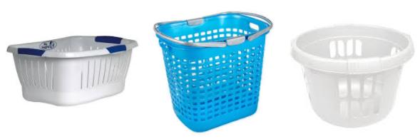 пластиковая корзина для ванной