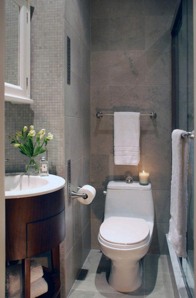 дизайн ванной в хрущевке изысканый