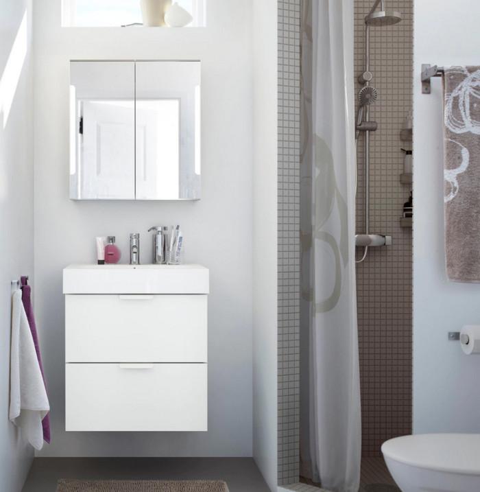 дизайн ванной в светлом стиле