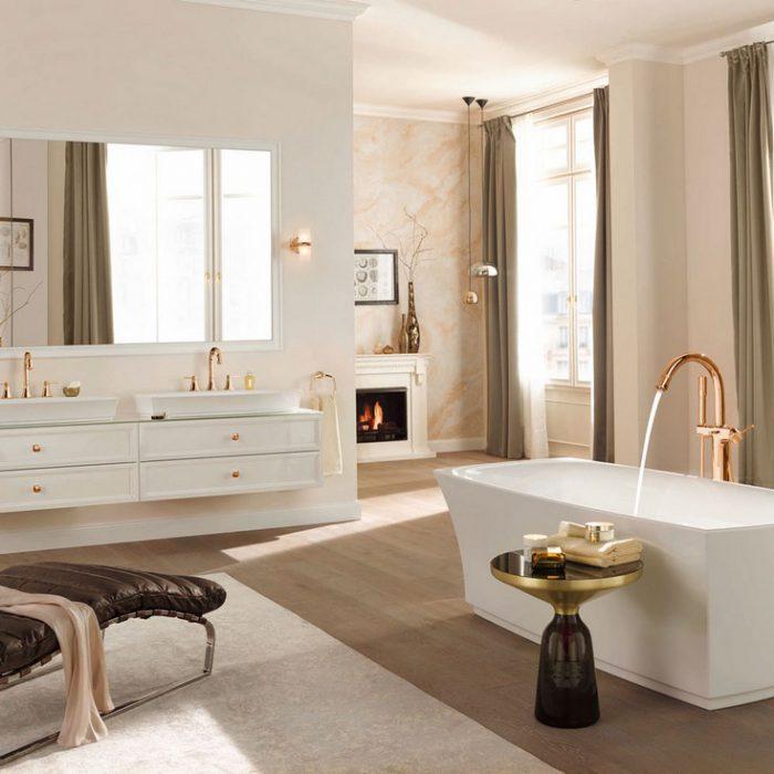 современный дизайн ванной комнаты