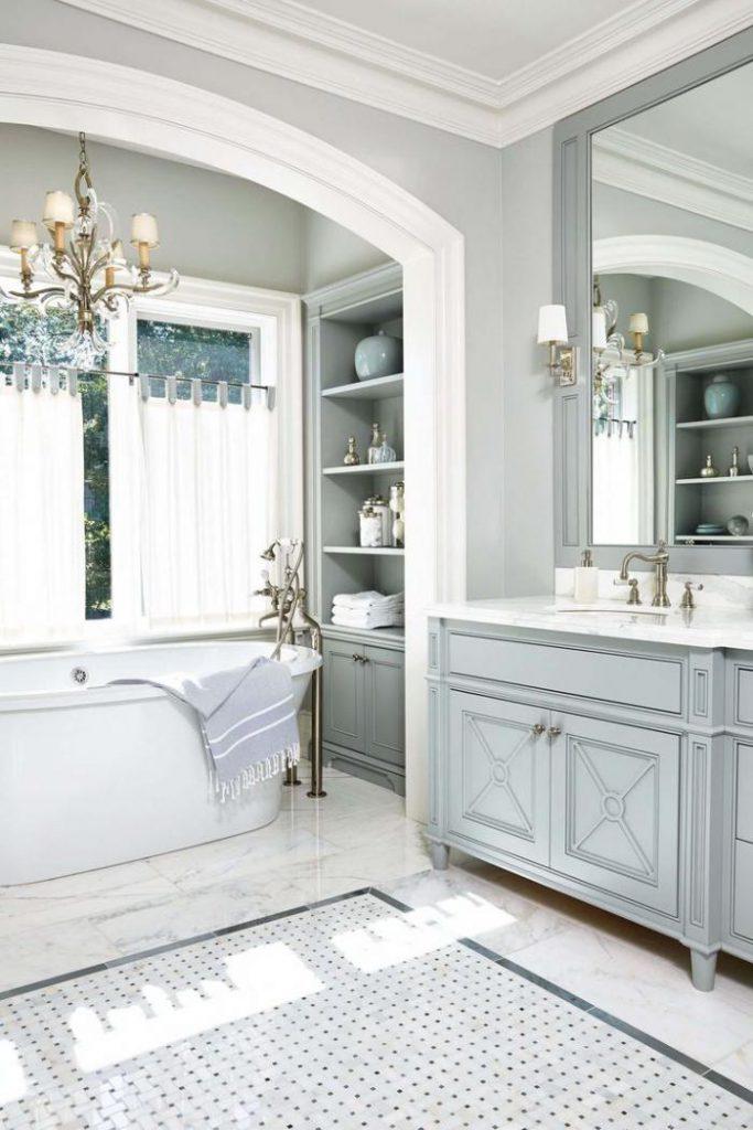 Ванна отдельностоящая роскошь и шик в дизайне ванной комнаты