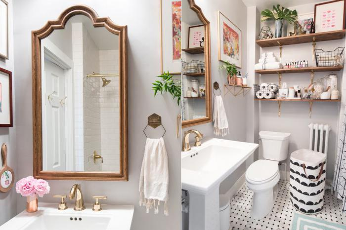 Как быстро без затрат изменить дизайн ванной? 30 идеи