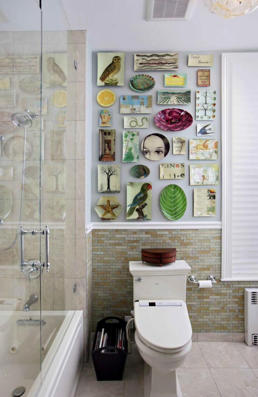 Как быстро и без затрат изменить дизайн ванной? 30 идеи