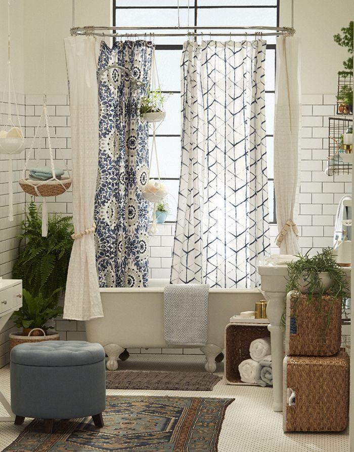 Ванная комната в стиле бохо шик