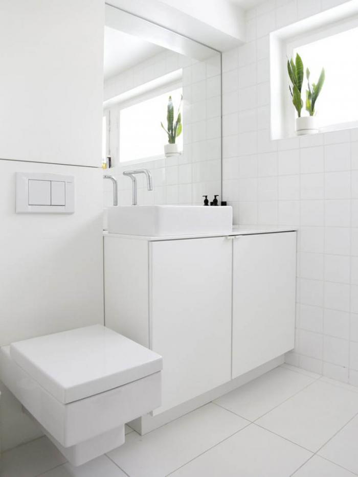 Ванная в белом цвете. 70 фото оригинального дизайна